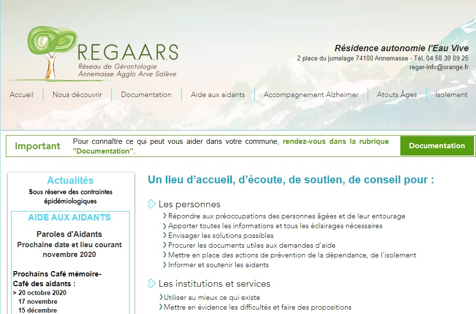 Association Regaars